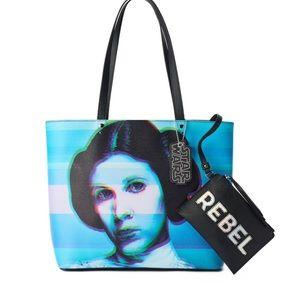 Star Wars Princess Lea Rebel Tote with Wristlet